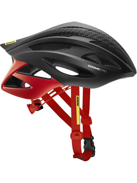 Mavic Cosmic Pro Helmet Men Black/Fiery Red